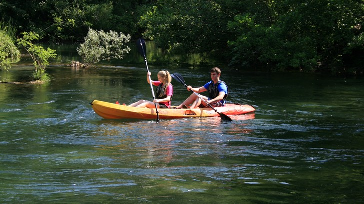 Kayaking Cetina